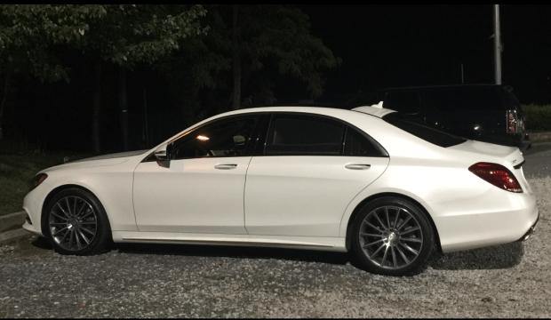 2016 Mercedes Benz S class Sedan S550 Cashmere White Metallic Matte
