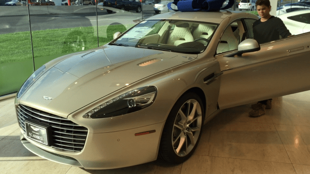 Aston Martin Rapide S side