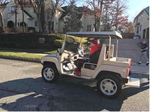 Hummer Golf Cart 2016