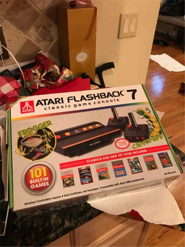My and Uncle got Atari Flashback